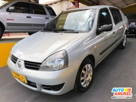 Renault - Clio Sedan Expression Hi-Flex 1.0 16V 4p