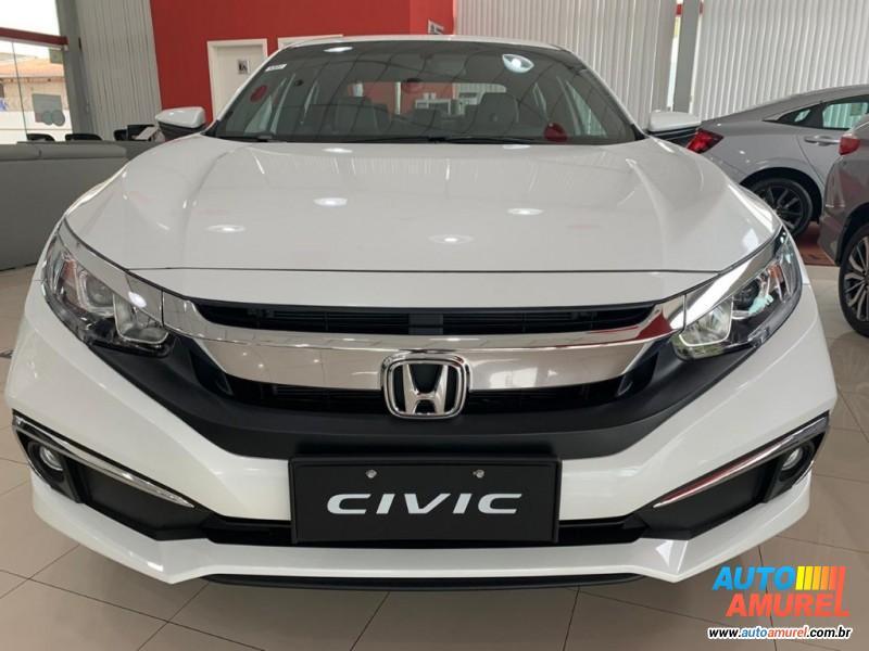 Honda - Civic Sedã EX Aut. 4p