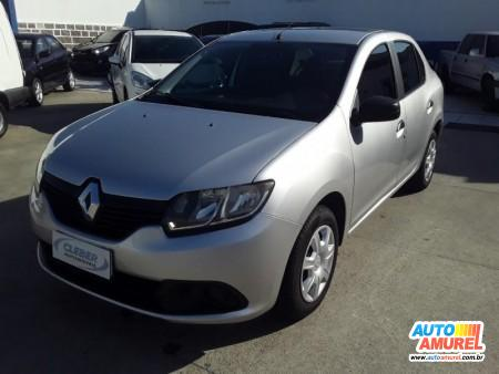 Renault - Logan Authentique Hi-Flex 1.0 16V 4p