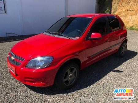 Chevrolet - Celta LT 1.0 MPFI 8V FlexPower 5p
