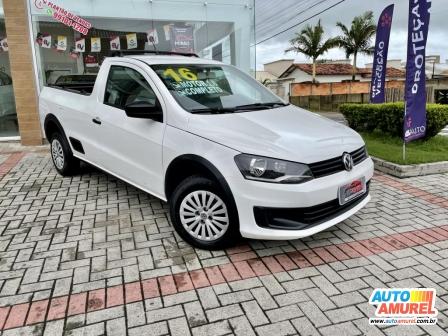 VolksWagen - Saveiro Trendline 1.6 Total Flex 8V CS