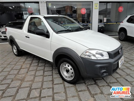 Fiat - Strada Working Hard 1.4 Fire Flex 8V CS