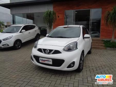 Nissan - March SL 1.6 16V Flex Fuel 5p