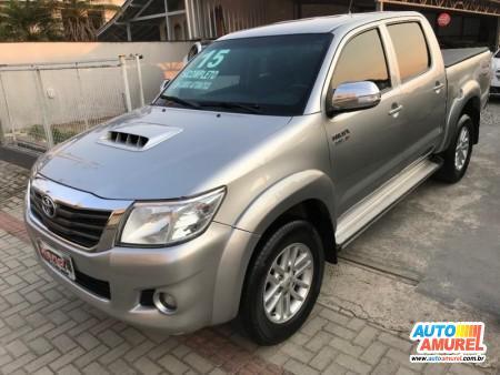 Toyota - Hilux CD SRV D4-D 4x4 3.0 TDI Diesel Aut