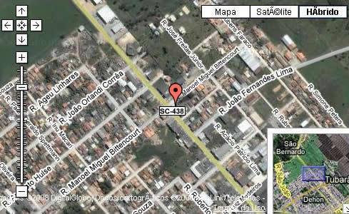 Mapa de ruas - como chegar até nós